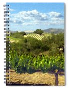 Syrah For Miles Spiral Notebook