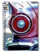 T-bird Tail Spiral Notebook