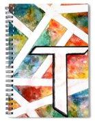 T Spiral Notebook