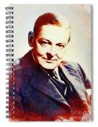 T. S. Eliot, Literary Legend Spiral Notebook