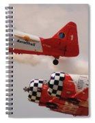 T6 Aerobatics II Spiral Notebook