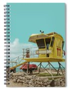 T7 Lifeguard Station Kapukaulua Beach Paia Maui Hawaii Spiral Notebook