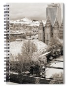 Tabernacle And Temple Spiral Notebook