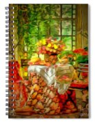 Table For Two In Ambiance Spiral Notebook