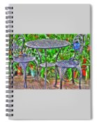 Table For Two Spiral Notebook