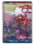 Table Land3 Spiral Notebook