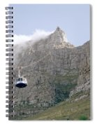 Table Mountain Cable Car Spiral Notebook