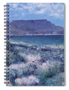 Table Mountain Cape Town South Africa 2007  Spiral Notebook