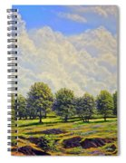 Table Mountain In Bloom Spiral Notebook