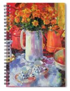 Table Reflections Spiral Notebook