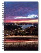 Table Rock Lake Night Shot 2 Spiral Notebook