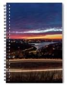 Table Rock Lake Night Shot Spiral Notebook