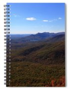 Table Rock Mountain From Caesars Head State Park In Upstate South Carolina Spiral Notebook