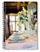 Table Setting Spiral Notebook