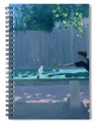 Table Tennis Spiral Notebook