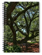 Table Under The Oak Tree Spiral Notebook