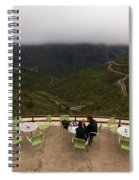 Table With A View  Spiral Notebook