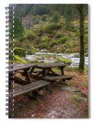 Tables By The River Spiral Notebook