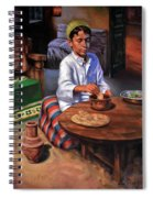 Tablia Table  Spiral Notebook