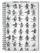 Tactical Hand Signals Spiral Notebook
