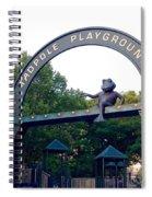 Tadpole Playground Boston Spiral Notebook