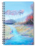 Tadpoling By The River Spiral Notebook