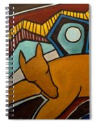 Taffy Horses Spiral Notebook