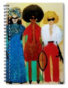 Tag Team Against Crime Spiral Notebook