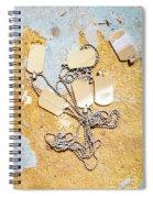 Tags Of War Spiral Notebook