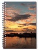 Tahiti Sunset Spiral Notebook