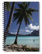 Tahiti View Spiral Notebook