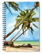 Tahitian Idyll Spiral Notebook