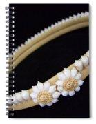 Tahitian Sea Shell Haku Spiral Notebook