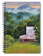 Tahlequah Ridge Morning Spiral Notebook
