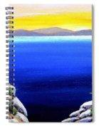 Tahoe Morning Spiral Notebook