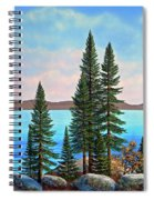 Tahoe Shore Spiral Notebook