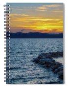 Tahoe Sunset Spiral Notebook