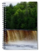Tahquamenon Lower Falls Upper Peninsula Michigan 10 Spiral Notebook