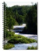Tahquamenon Lower Falls Upper Peninsula Michigan 12 Spiral Notebook