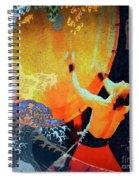 Taiko Drumming Spiral Notebook