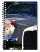 Tail Light Spiral Notebook