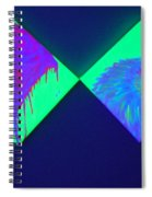 Tailed Flower And Kiwi Spiral Notebook
