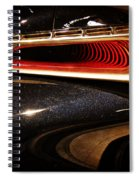 Taillight Of The Future Spiral Notebook