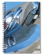 Taillight Reflections Spiral Notebook