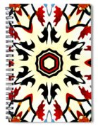 Taj Mahal Kaleidoscope Spiral Notebook