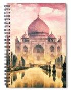 Taj Mahal Spiral Notebook