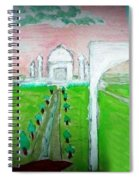 Taj Mahal Noon Spiral Notebook