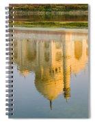 Taj Mahal Reflection Spiral Notebook