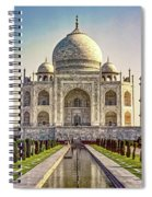 Taj Mahal Spiral Notebook
