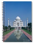 Taj Mahal View Spiral Notebook